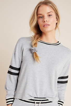 Comune Ramona Striped Pullover By in Grey Size XS