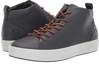 Ecco Soft 8 Dritantm Mid Cut Sneaker (Deep Forest) Men's Shoes