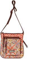 Waverly Paisley Floral Quilted Large Crossbody Bag