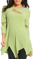 IC Collection Mesh Inset Detail Tunic