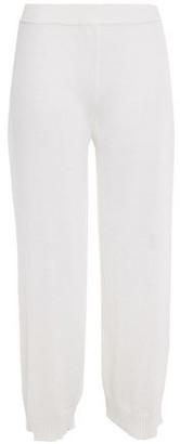 Missoni Cropped Crocheted Linen-blend Wide-leg Pants