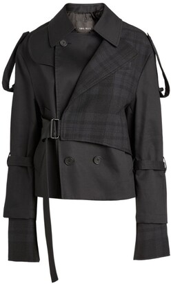 Daniel Pollitt Short Trench Coat Jacket