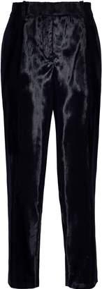 Jil Sander Cropped Faux Fur Tapered Pants