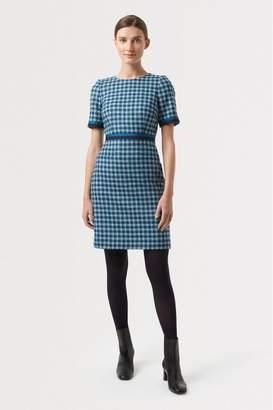 Hobbs Womens Blue Elodie Dress - Blue