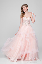 Terani Prom - Beaded Lace Sweetheart Ballgown 1711P2844