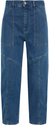 Stella McCartney Paneled Boyfriend Jeans