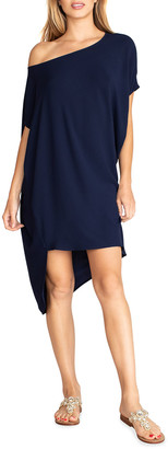 Trina Turk Radiant High-Low Shift Dress