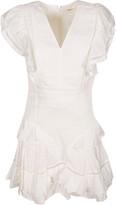 Isabel Marant V-neck Ruffled Detail Dress