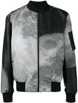 Christopher Raeburn moon print reversible bomber jacket - men - Polyester/Recycled Polyester - L