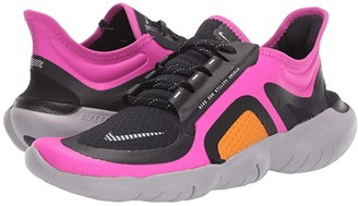Nike Free RN 5.0 Shield (Fire Pink/Metallic Silver/Black) Women's Running Shoes