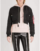 Alpha Industries MA-1 SF PM shell bomber jacket