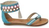 Les Tropéziennes PAR M.BELARBI Galactik Flat Leather Sandals