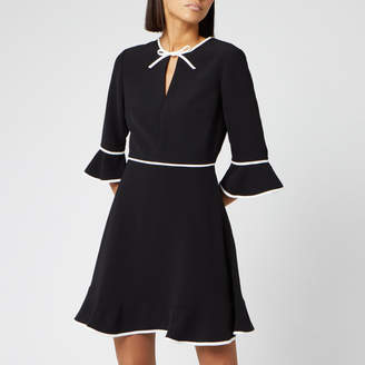 Ted Baker Women's Dindy Skater Dress with Bow Binding