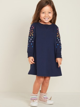 Old Navy French-Terry Dress for Toddler Girls