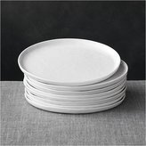 Crate & Barrel Set of 8 Mercer Salad Plates