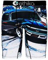 Ethika Men's The Staple Fit Black SS Long Boxer Brief Underwear Sz: L