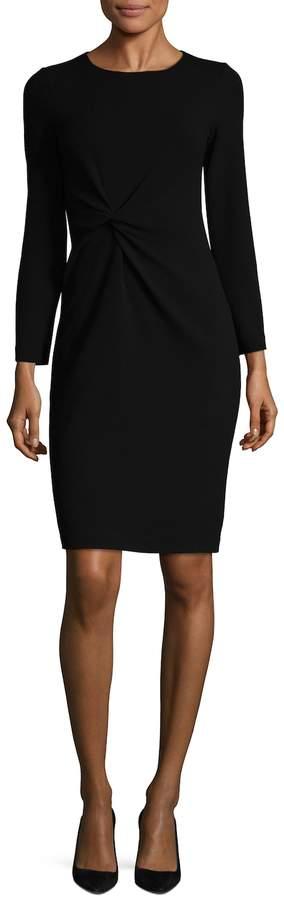 Armani Collezioni Women's Gathered Sheath Dress