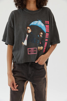 Urban Outfitters Biggie It Was All A Dream Cropped Tee