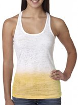 Yoga Clothing For You Ladies Ombre Burnout Tank Top