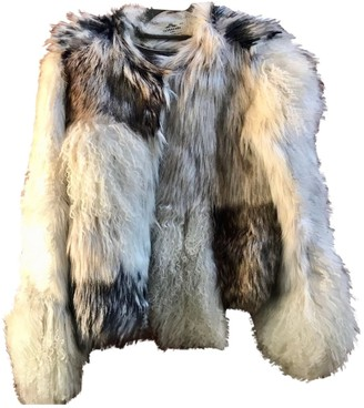 Urban Code Urbancode Grey Faux fur Coat for Women
