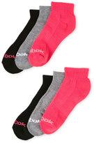 Reebok 6-Pack Quarter Cut Socks