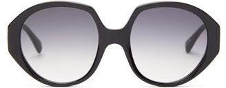 KALEOS Paley Angular Acetate Sunglasses - Black