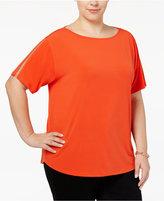 MICHAEL Michael Kors Size Chain-Trim T-Shirt