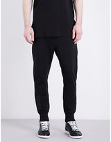 Y3 High-rise Cotton Jogging Bottoms