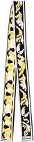 Emilio Pucci geometric print skinny scarf - women - Silk - One Size