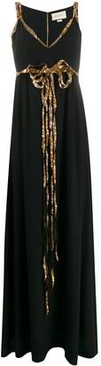 Gucci Sequin Detail Evening Dress