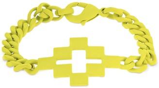 Marcelo Burlon County of Milan Logo Cross Metal Bracelet