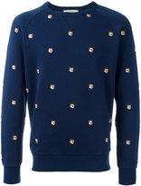 MAISON KITSUNÉ All Over Fox Head sweatshirt - men - Cotton - S