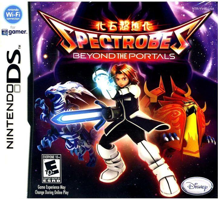 Nintendo ds TM spectrobes: beyond the portals