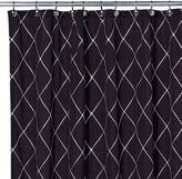 Bed Bath & Beyond Wellington Shower Curtain in Black/White