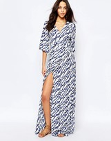 BA&SH Maxi Wrap Maxi Dress
