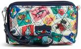 Vera Bradley Rfid Cuban Stamps Crossbody Bag