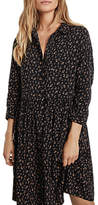 Hush Ditsy Dahlia Dress, Black/Brown