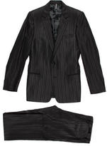 Christian Dior Striped Wool Two-Piece Suit