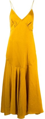 KHAITE Open-Back Slip Dress