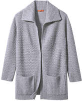 Joe Fresh Women's Sweater Coat, Grey Mix (Size M/L)
