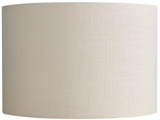 Pottery Barn Gallery Straight-Sided Lamp Shade, Rolled Edge