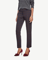 Ann Taylor Devin Plaid Everyday Ankle Pants