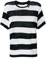 Amiri printed stripe T-shirt