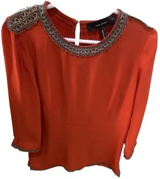 Isabel Marant Orange Silk Tops