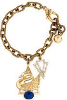 Lulu Frost Swan Charm Bracelet