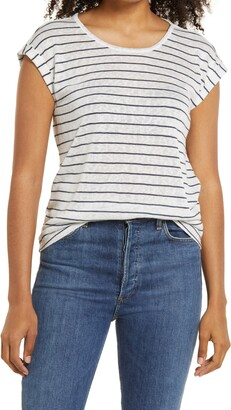 Wit & Wisdom Scoop Neck Twist Back T-Shirt