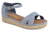 Toms Girl's Harper Wedge Sandal