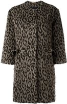 Peter Jensen animal print coat