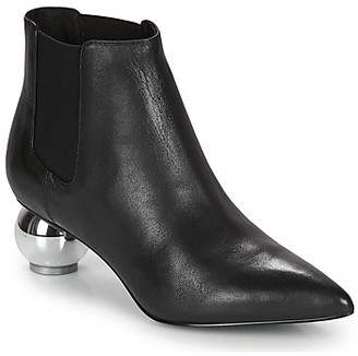 Katy Perry THE DISCO women's Low Ankle Boots in Black