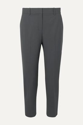 Theory Treeca Stretch-wool Tapered Pants